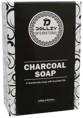 Dollzy Charcoal Soap - 125g