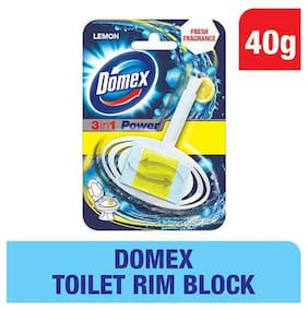 Domex Toilet Rim Block - Lemon 40 g
