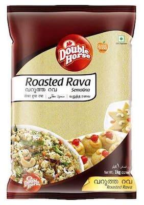 Double horse Roasted Rava 1 kg