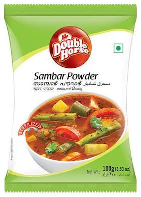 Double horse Powder - Sambar 100 gm