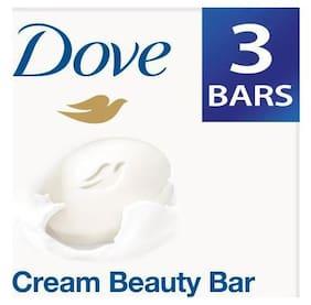 Dove Bathing Bar Soap - Cream Beauty 100 g Pack Of 3