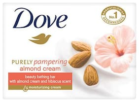Dove Bathing Bar Soap - Almond Cream Beauty 75 gm
