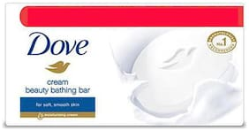 Dove Bathing Bar Soap Cream Beauty 100 Gm
