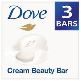 Dove Bathing Bar Soap - Cream Beauty 100 g Pack Of 3