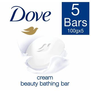 Dove Cream Beauty Bathing Bar 5X100 gm