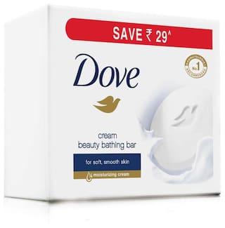 Dove Cream Beauty Bathing Bar 3X100 gm