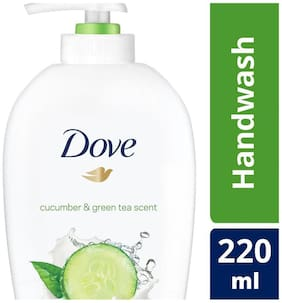 Dove Cucumber & Green Tea Handwash 220 ml