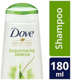 Dove Environmental Defence Shampoo  180 Ml