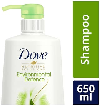 Dove Environmental Defence Shampoo  650 Ml