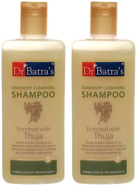 Dr Batra'S Dandruff Cleansing Shampoo 200ml (Pack Of 2)