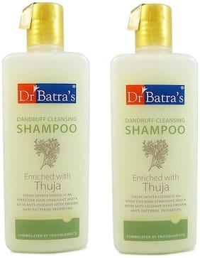 Dr Batra's Dandruff Cleansing Shampoo 400ml (Pack of 2)