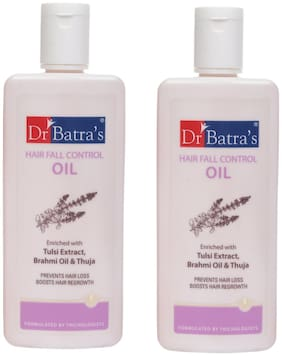 Dr Batra'S Hair Fall Control Oil 200ml (Pack Of 2)