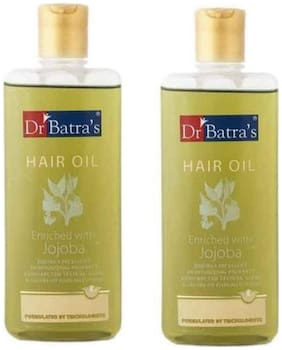 Dr. Batra'S Jojba Hair Oil (200 ml )(Pack Of 2)