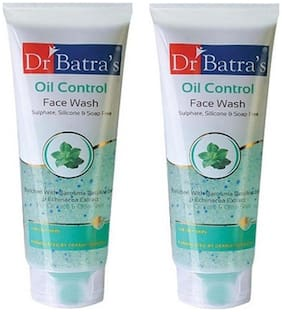 Dr. Batra's Oil Control Face Wash (100 ml) (Pack of 2)