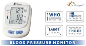 Dr. Morepen BP 09 Bp Monitor (White)