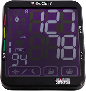 Dr. Odin Smart Talking Automatic Digital Bp Monitor Machine with Touch Display