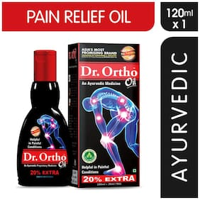 Dr Ortho Joint Pain Relief Oil 120 ml (Ayurvedic) Pack of 1