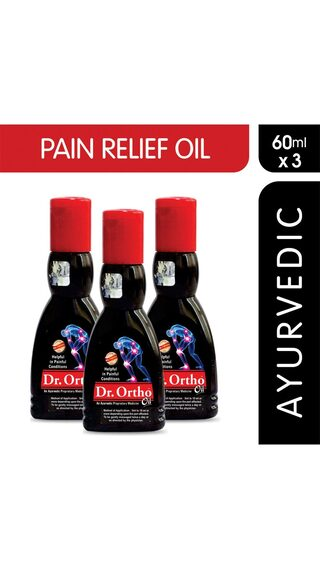 Dr Ortho Joint Pain Relief Oil 60 ml Pack of 3