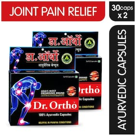Dr Ortho Joint Pain Relief Capsules 30Caps (Ayurvedic) Pack of 2