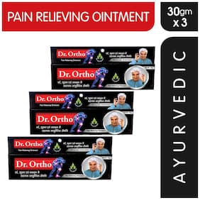 Dr Ortho Pain Relief Ointment 30 gm (Ayurvedic) Pack of 3