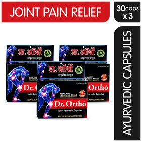 Dr Ortho Pain Relief Capsules 30Caps. Pack of 3