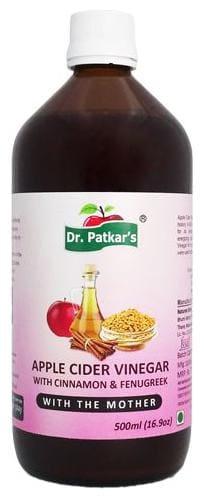 Dr. Patkars Apple Cider Vinegar - with Cinnamon & Fenugreek 500 ml
