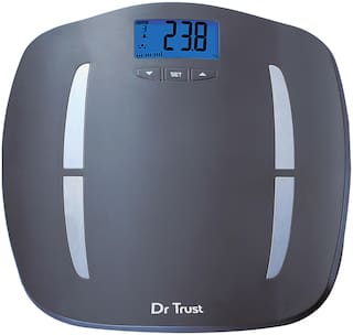 Dr Trust (USA) ABS Fitness Body Composition Monitor Fat Analyzer and Weighing Scale 180kg