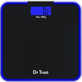 Dr Trust (USA) Electronic Supernova Digital Personal Weighing Scale for Body Weight 180kg
