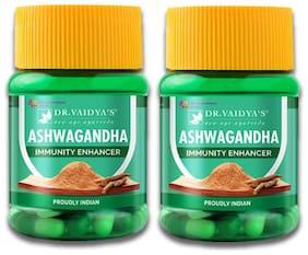 Dr. Vaidya's Ashwagandha Capsules/ Immunity Enhancing Capsules/30 Capsules ( Pack of 2 )