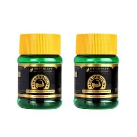 Dr Vaidya's Herbobuild Ayurvedic Capsules for Muscle Gain 30 Capsules ( Pack of 2 )