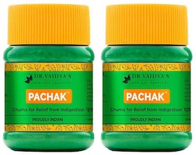 Dr. Vaidya's Pachak Churna | Ayurvedic Churna For Digestion | 50 Gm X Pack of 2