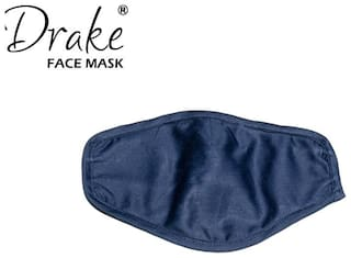 Drake Face Mask with Earloop -Navy Blue (Pack of 1)