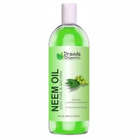Dravida Organics Pure Organic Neem Hair Oil (100 ml)