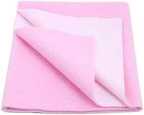 DREAM CARE Waterproof & Washable Instadry Extra Absorbent Baby Dry Sheet & Bed Protector - Pink Pack of 1