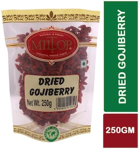 Miltop Dried Gojiberry 250Gm