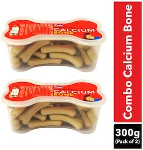 Drools Absolute Calcium Bone JarDog Supplement - 40 pc (600g) ( Pack OF 2)