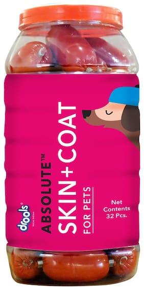 Drools Absolute Skin+Coat Sausage Dog Food - Jar 32 Pcs