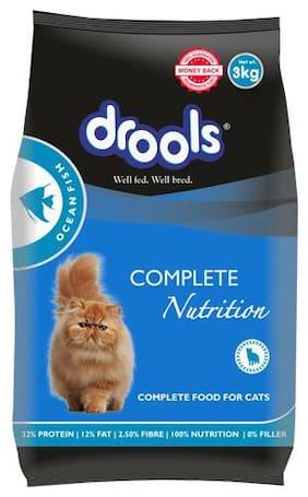 Drools Cat Food - Ocean Fish  Adult  Limited Offer Stock 3 kg