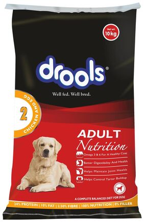 Drools Chicken And Egg Adult Dog Food 10 kg
