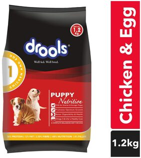 Drools Chicken And Egg Puppy Dog Food 3 kg (+ 1.2 kg Free)