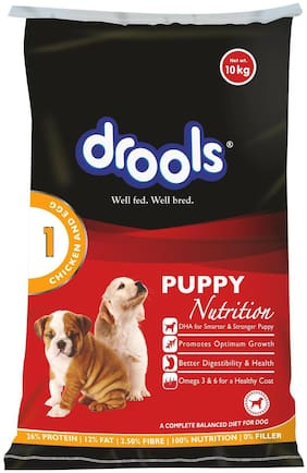 Drools Chicken And Egg Puppy Dog Food 10 kg