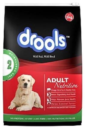 Drools Dog Food - 100% Vegetarian, Adult 3 kg