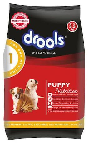 Drools Dog Food - Chicken & Egg  Puppy 3.5 kg