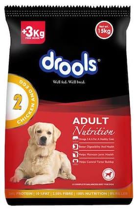 Drools Dog Food - Chicken & Egg  Adult  Limited Offer Stock 15 kg