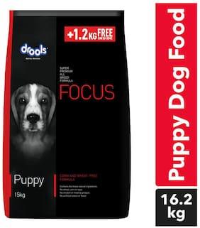 Drools Focus Puppy dry dog food 15kg