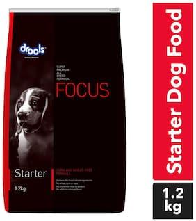 Drools Focus Starter dry dog food 1.2kg