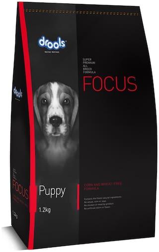 Drools Focus Puppy Super Premium Dry Dog Food, 1.2kg