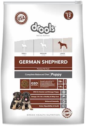 Drools German Shepherd Puppy Premium Dog Food 12 kg