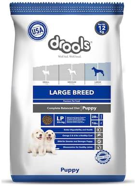 Drools Large Breed Puppy Premium Dog Food 12 kg