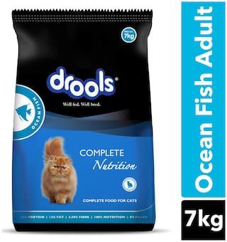 Drools Adult(+1 year) Dry Cat Food, Ocean Fish, 7 kg